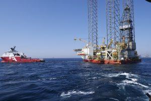planta petrolífera en el mar