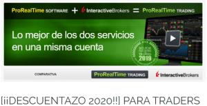 IImagen plataforma gráfica Descuento 2020 ProRealTime