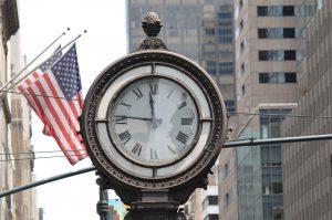 reloj ciudad de nueva york