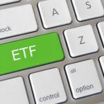 teclado ordenador con botón ETF